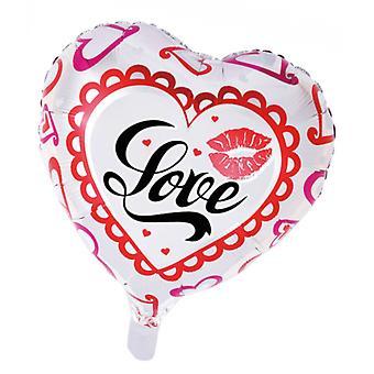Folio ilma pallo sydän | Rakkaus | Valentine-46 cm
