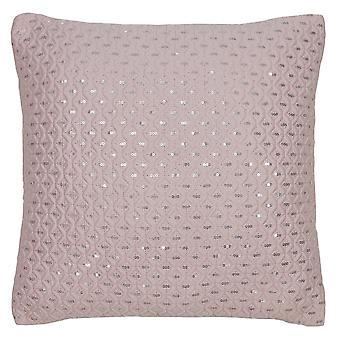 Subtiele Pailletten Cushion-Blush