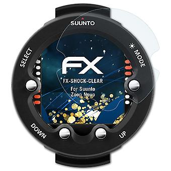 atFoliX Glass Protector compatible with Suunto Zoop Novo Glass Protective Film 9H Hybrid-Glass