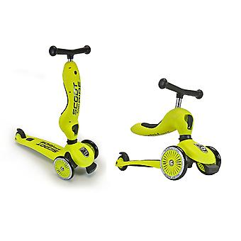 Scoot and Ride Highwaykick 1 2in1 Scooter Lime