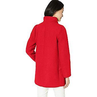 J.Crew Mercantile Women's Classic Wool Cocoon Coat,, Spectrum Red, Size 16.0