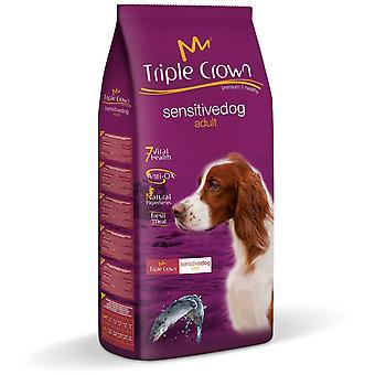 Triple Crown Sensitive Dog 3Kg (Dogs , Dog Food , Dry Food)