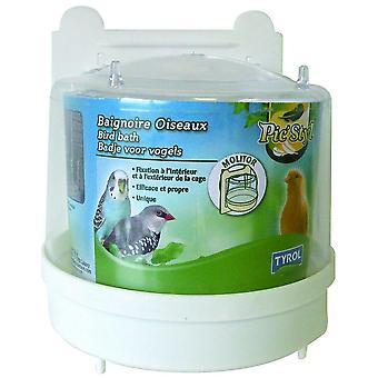 Tyrol Bird Bath Outdoor Molitor (Aves , Higiene e limpeza , Acessórios)