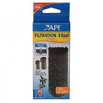 API Superclean Губка 90/120 (рыба, Фильтры & водяные насосы, фильтр Губка пены)