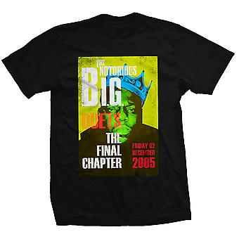 Biggie Smalls Notorious B.I.G. Final Chapter Official Tee T-Shirt Mens Unisex