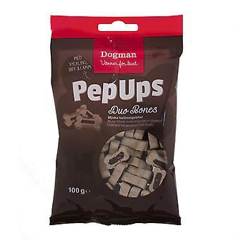 Pep Ups Duo Bones 3-Flavor Dogman