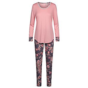 Rösch 1193527-16401 Women's New Romance Pink Floral Cotton Pyjama Set