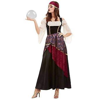 Deluxe Fortune Teller Kostüm Erwachsene Schwarz