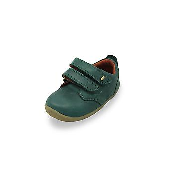 Bobux step up port green forest shoes