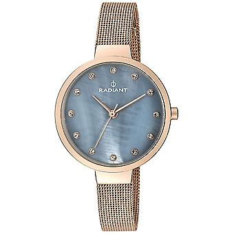 Radiant new north star Quartz Analog Woman Watch with RA416206 Sterling Silver Bracelet