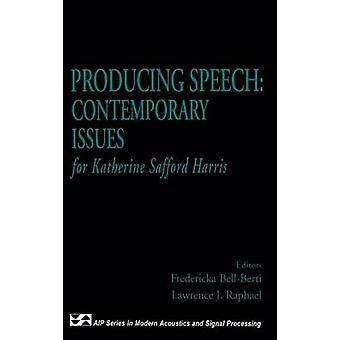 Het produceren van spraak hedendaagse problemen voor Katherine Safford Harris door BellBerti & Frederika