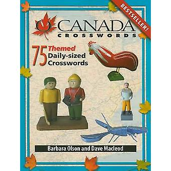 O Canada Crosswords - Book 8 - 75 Themed Daily-Sized Crosswords by Bar