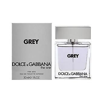 Dolce & gabbana the one grey for men 1.0 oz eau de toilette intense spray