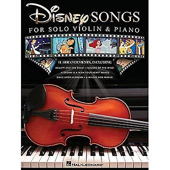 Disney Songs for Solo Violin & Piano