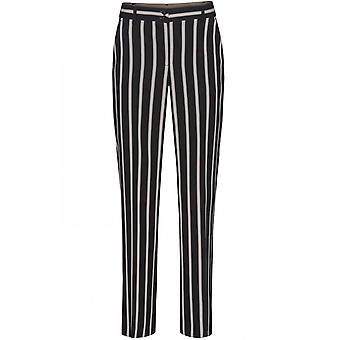Bianca Striped Straight Leg Trousers