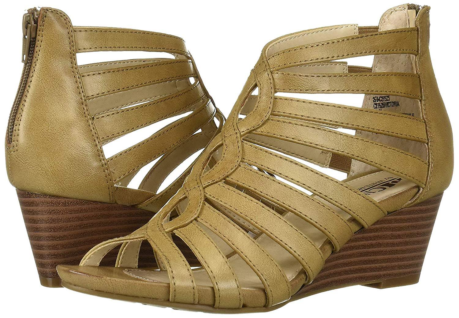 Cliffs by White Mountain Womens Victoria Open Toe Casual Slingback Sandals wNjkP