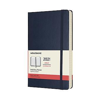 2021 12M Daily Ntbk Lrg Sapphire Blue HD