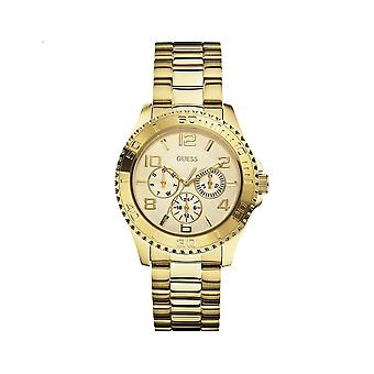 Guess W0231L2 Multi-Function Gold-Tone Sport Ladies Watch