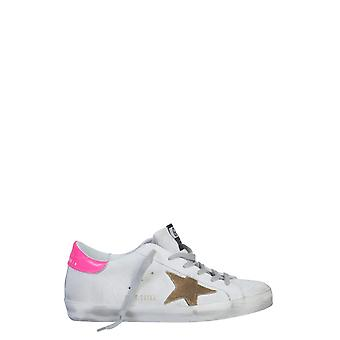 Golden Goose G36ws590s81 Women's White Leather Sneakers