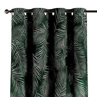Oogkarvje, groen, 130 x 260 cm, Fluweel, 704-21
