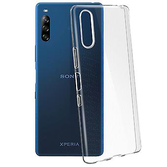 Protective Cover Sony Xperia L4 Silicone Flexible Resistant Ultra Thin Clear