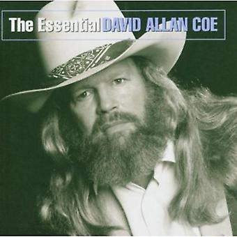 デビッド ・ アラン ・ Coe - 不可欠なデビッド アレン Coe [CD] USA 輸入