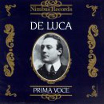 Giuseppe De Luca - De Luca - Prima Voce [CD] USA import