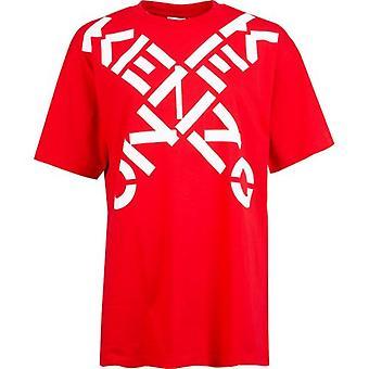Overdimensjonert passform Kenzo Sport Logo T-skjorte