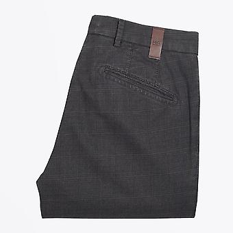MMX  - Leo - Checked Trousers - Brown