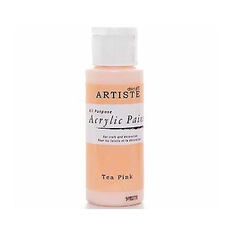 Docrafts Acrylique Paint (2oz) - Thé Rose (DOO 763220)
