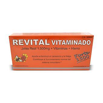 Revital Vitaminado Forte 20 ampoules