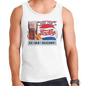 Pepsi Cola Ice Cold Delicious Men's Vest