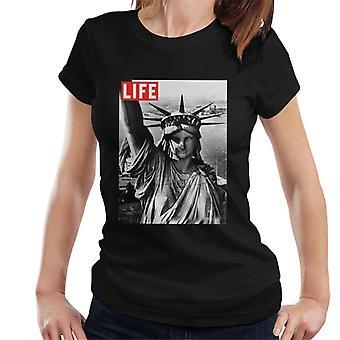 Life Magazine Statue Of Liberty Women's T-Shirt