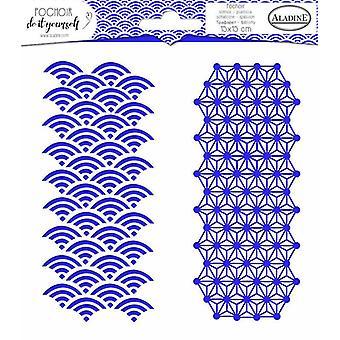אלאדין סטנסיל דואו גיאומטריה