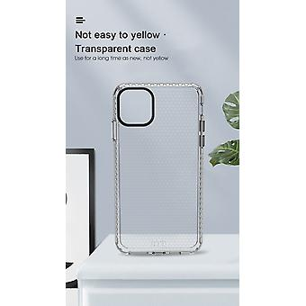 iPhone SE 2020 Transparent Case - HoneyComb