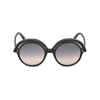 Emilio Pucci - Accessoires - Zonnebrillen - EP0065_01B - Dames - zadelbruin, zwart