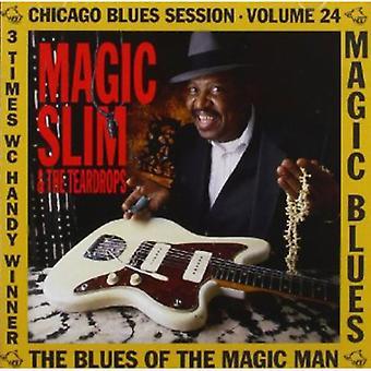 Magic Slim Magic Blues - Blues of the Magic Man [CD] USA import