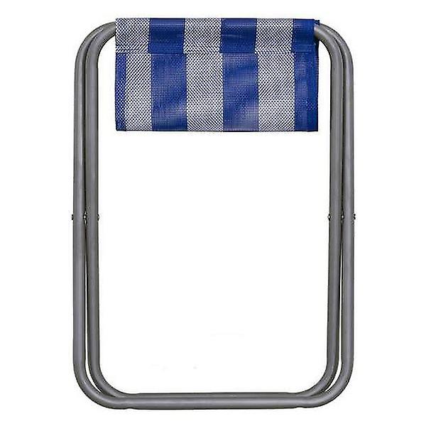 Stool Juinsa Blue White (33 X 31 x 39 cm)