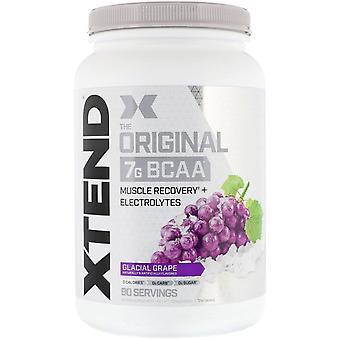 Xtend, Xtend, The Original 7G BCAA, Glacial Grape, 2.68 lb (1.22 kg)