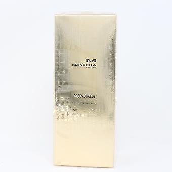 Rosen gierig von Mancera Eau De Parfum 4oz/120ml Spray neu mit Box