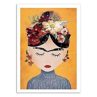 Kunst-Plakat - Frida Gul Version - Treechild