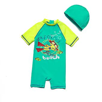 Bonverano Baby Boys One Piece UPF 50+ Sun Protection S/S Sleeves Zip Sunsuit