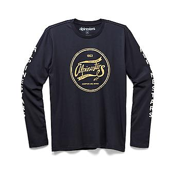 Alpinestars Hoopla Premium Long Sleeve T-Shirt in Indigo