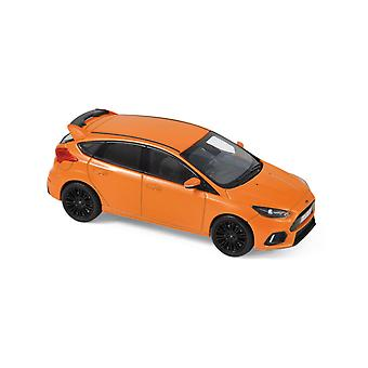 Ford Focus RS (2018) in Metallic Orange (1:43 schaal by Norev 270566)