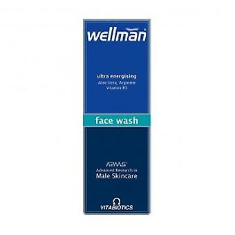 Vitabiotics - Wellman Face Wash 125ml