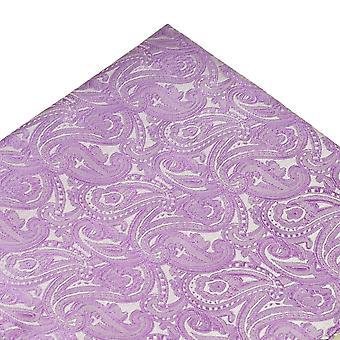 Solmiot Planet Lilac Paisley Kuvio Tasku Neliö Nenäliina