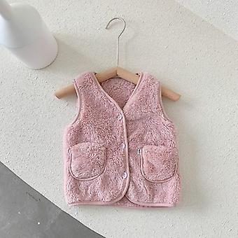 Newborn Girl Warm Vest Autumn Winter  Clothes Sleeveless Outwear