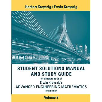Student Solutions Manual Advanced Engineering Wiskunde Volume 2