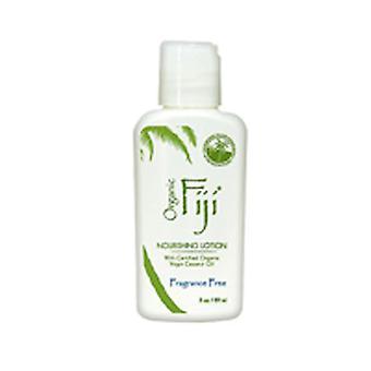 Organic Fiji Fragrance Free Nourishing Lotion For Face & Body, 3 Oz