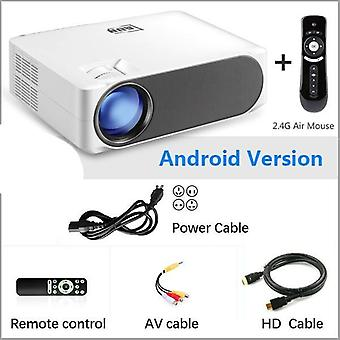 Full Hd Projector -1920*1080pupgrade 6800 Lumens Multimedia System For 4k 3d Home Cinema